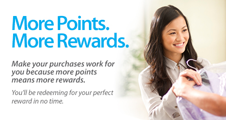 More Points. More Rewards.
