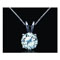 Antwerp Silver Dream Necklace w/ Cubic Zirconia - 4.00 CT TW