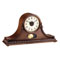 BULOVA Hyde Park Chiming Tambour Mantel Clock w/Cherry Finish