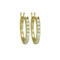 Antwerp Diamonds 14K Yellow Gold Classic Diamond Hoop Earrings