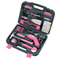 APOLLO® PRECISION TOOLS 135 pc. Household Tool Kit in Pink