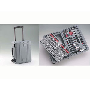 ALLIED TOOLS & EQUIPMENT® 160 pc. Tool Set in Rolling Case