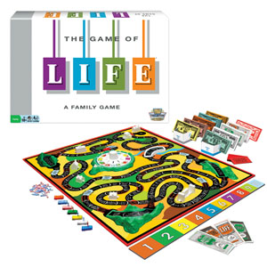 Winning Moves® The Game Of Life Board Game