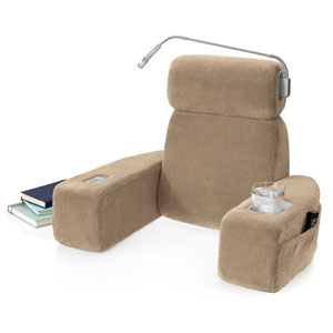 brookstone nap massaging bed rest