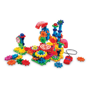 Learning Resources® Gears! Gears! Gears! Lights & Action Building Set