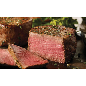 Omaha Steaks® Four 6 oz. Filet Mignons
