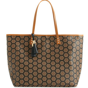 cinda b Luxe Collection Large London Tote