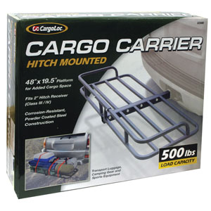 CargoLoc Hitch Mounted Cargo Carrier