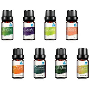 PURSONIC® Pure Essential Aroma Oils - 8 Pack