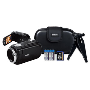 Vivitar® Palm Sized Digital Video Recorder Kit