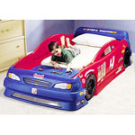 STEP 2® Stock Car Convertible Toddler - Twin Bed