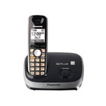 Panasonic® DECT 6.0 Cordless w/Answerer, Eco Mode