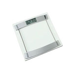 HoMEDICS® Tempered Glass LCD Digital Bath Scale