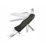 Victorinox Swiss Army® One-Handed Forrester Pocket Knife