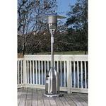 FireSense® Stainless Steel Deluxe Patio Heater
