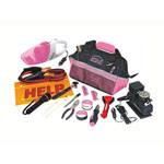 APOLLO® PRECISION TOOLS 54 pc. Roadside Tool Kit - Pink