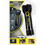 RAYOVAC® Roughneck 2D Rubbermate LED Flash Light
