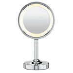 CONAIR® Double-Sided Lighted Round Mirror