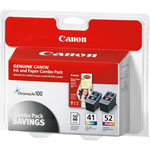 Canon® Multicolor Ink + Paper Pack for PIXMA