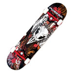 PUNISHER® Skateboards Legends Complete 31.5