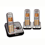 at&t® DECT 6.0 Cordless w/Answerer, 3 Handsets