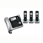 at&t® DECT 6.0 2-Line Bluetooth w/Corded Base