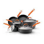 RACHAEL RAY® 10 pc. Hard Anodized Cookware Set