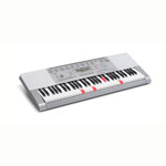 CASIO® 61 Key Lighted Keyboard w/Adaptor