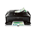 Canon® PIXMA Wireless All-in-One Printer w/WiFi, 3