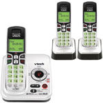 vtech® DECT 6.0 Cordless Phone w/3 Handsets, Answerer