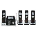 at&t® DECT 6.0 Cordless Phone w/4 Handsets