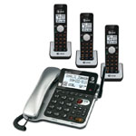 at&t® DECT 6.0 Corded/Cordless Phone w/3 Handsets