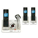vtech® DECT 6.0 Cordless Phone w/3 Handsets