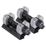 Stamina® Versa-Bell II 50 lb. Adjustable Dumbbell Pair