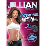 DVD REWARDS Jillian Michaels Extreme Shed & Shred