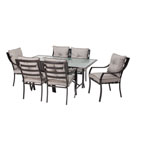HANOVER™ OUTDOOR Lavallette 7 pc. Outdoor Dining Set