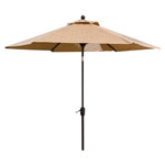 HANOVER™ OUTDOOR Monaco 9' Tiltable Umbrella