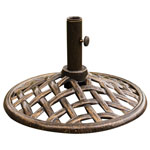 HANOVER™ OUTDOOR Iron Umbrella Base
