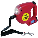 pet parade™ Dog Leash w/Flashlight & Waste Bag Dispenser