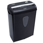 AURORA 8-Sheet Crosscut Shredder w/Basket