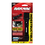 RAYOVAC® Virtually Indestructible 100 Lumen LED Flashlight w/Batteries