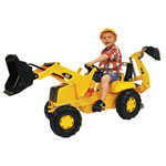 KETTLER USA CAT Front Loader w/Backhoe