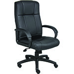 BOSS Office Products® CaressoftPlus High-Back Chair