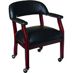 BOSS Office Products® Captain's Chair w/Casters