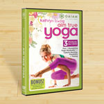 DVD REWARDS Kathryn Budig Aim True Yoga DVD