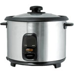 Brentwood® 10-Cup Stainless Steel Rice Cooker