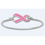 LeStage Convertible Collection Bracelet w/Pink Ribbon Clasp