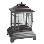 FireSense® Rectangle Pagoda Patio Fireplace