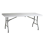 OFFICE STAR™ PRODUCTS Resin Folding Table 72