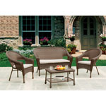 W UNLIMITED Earth Collection Love Seat/Chairs Set